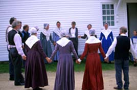 shaker singers at canterbury